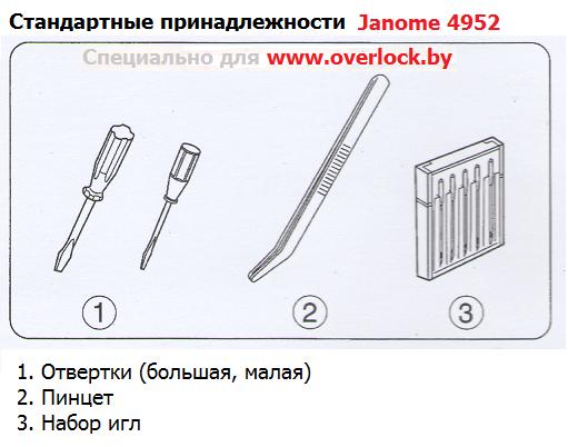 Janome 4952