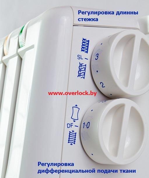 Удобные для женских рук регуляторы Elna 664 PRO