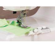 Лапка для плоскошовной машины Janome Для пришивания резинки