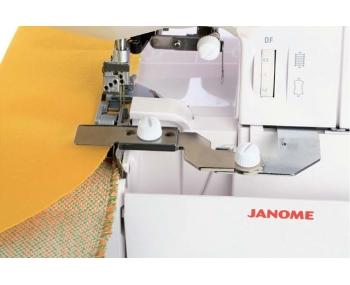 Лапка для плоскошовной машины Janome линейка направитель фото