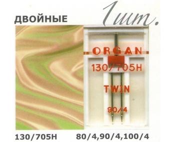 Иглы для швейных машин ORGAN Twin фото