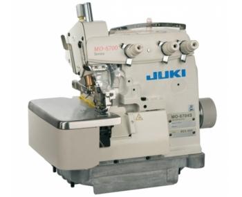 Оверлок промышленный Juki MO-6704S-OE4-40H+сервомотор фото