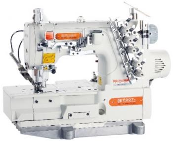Плоскошевная машина промышленная Siruba F007K - W122 - 364/FHA+ серводвигатель фото
