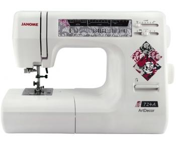 Швейная машина Janome ArtDecor 724A фото
