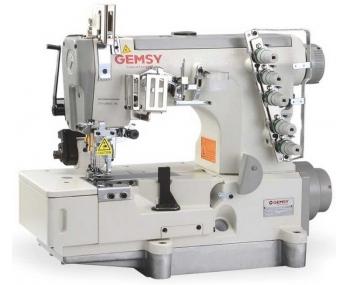 Плоскошевная машина промышленная Gemsy GEM5500D-01 5,6 фото