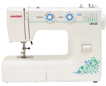 Швейная машина Janome LW-20 фото