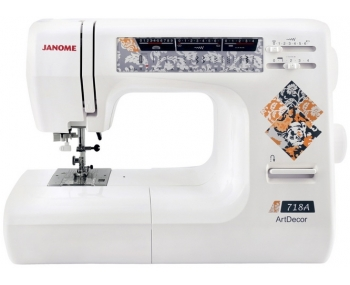 Швейная машина Janome ArtDecor 718A фото