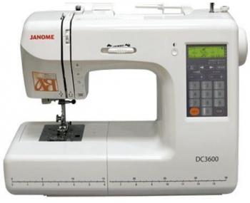 Швейная машина Janome DC 3600 фото
