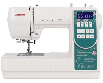 Швейная машина Janome Clio 200 фото
