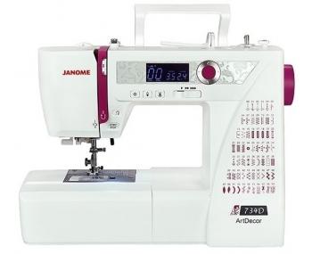 Швейная машина Janome ArtDecor 734D фото
