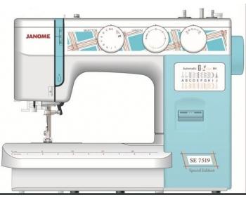 Швейная машина Janome SE 7519 (Special Edition) фото