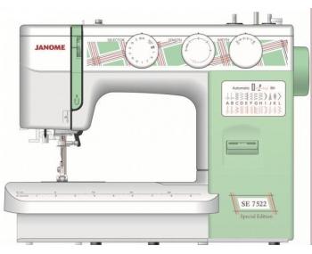 Швейная машина Janome SE 7522 (Special Edition) фото