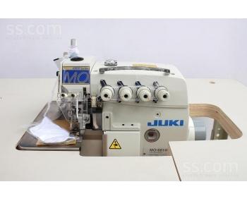 Оверлок промышленный Juki MO-6814S сервомотор  фото