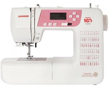 Швейная машина Janome 3160PG Anniversary Edition фото