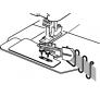 Лапка для плоскошовной машины Janome Для окантовки фото