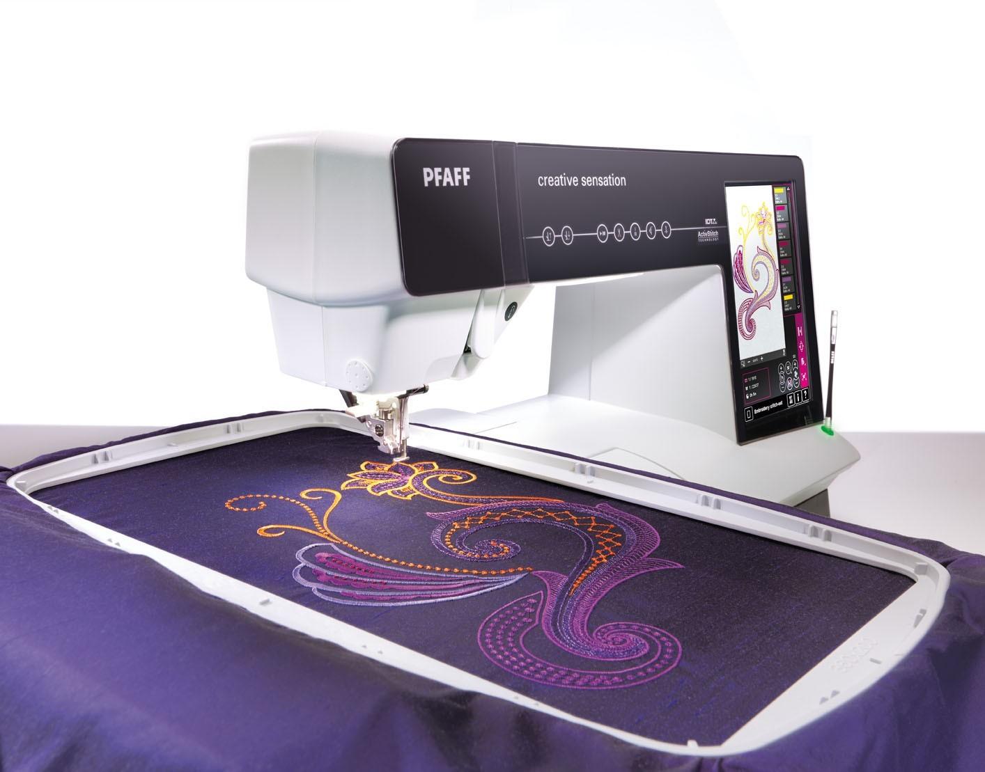 Pfaff дизайны для машинной вышивки pfaff